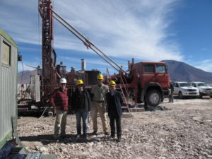 Ganfeng site visit to Mariana Lithium Brine Project in Argentina
